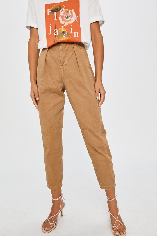 bej Answear Lab - Pantaloni De femei