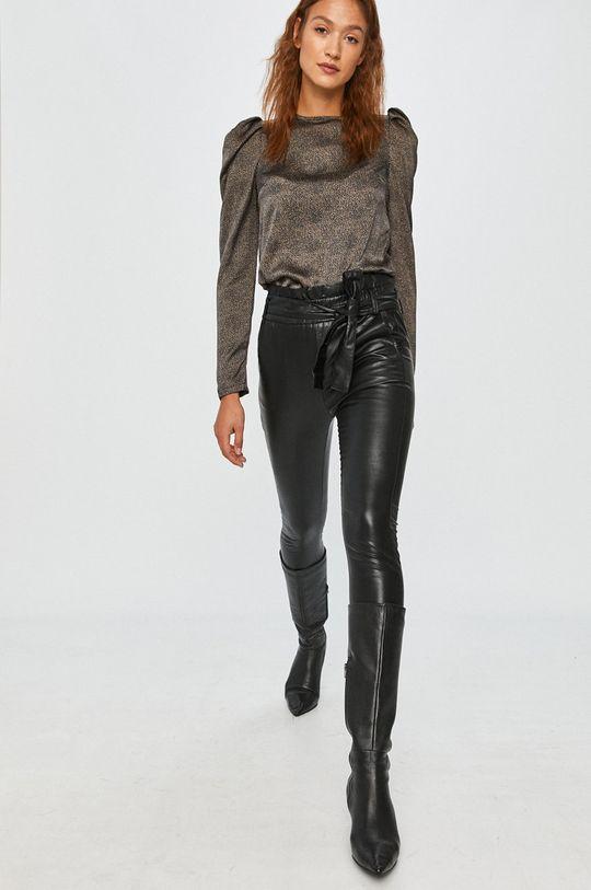 czarny Answear Lab - Spodnie Damski