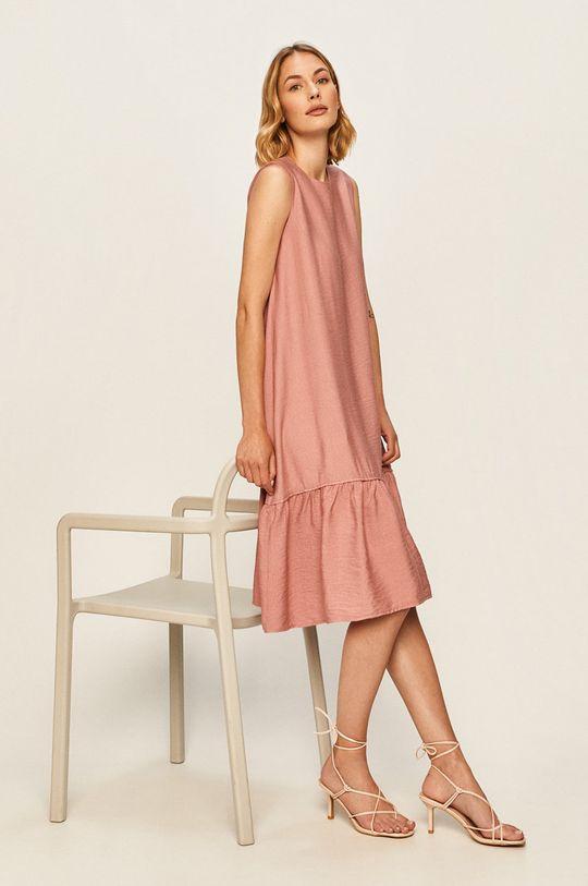 růžová Answear - Šaty Dámský