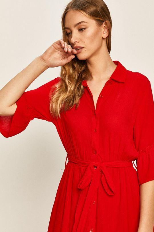 červená Answear - Šaty