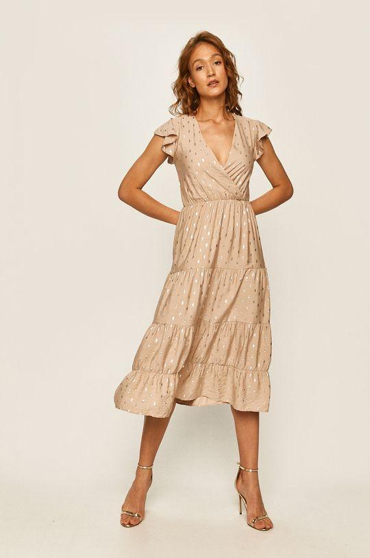 Answear - Šaty béžová