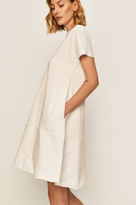 bílá Answear - Šaty Dámský