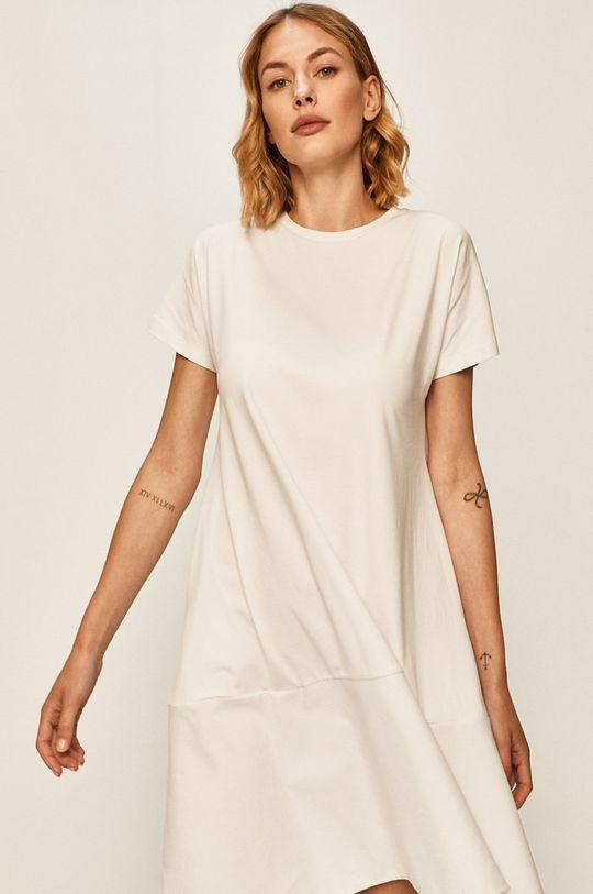 bílá Answear - Šaty
