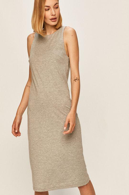 сірий Answear - Плаття