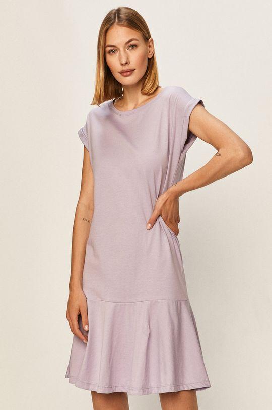 levandulová Answear - Šaty Answear Lab Dámský