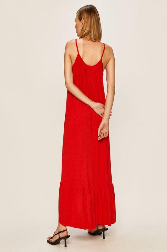 červená Answear - Šaty AnswearLab Dámsky