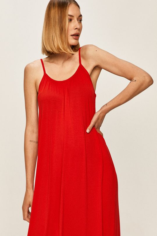 červená Answear - Šaty AnswearLab
