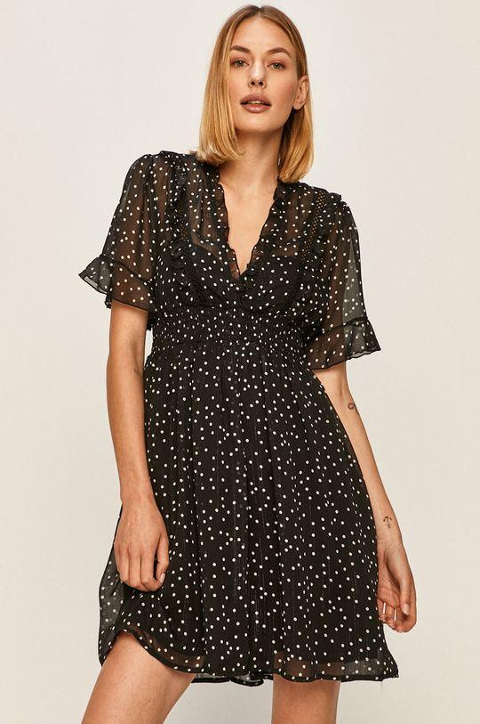 černá Answear - Šaty Answear Lab
