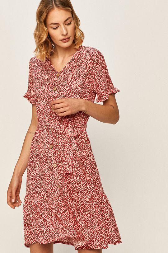 червоний Answear - Сукня