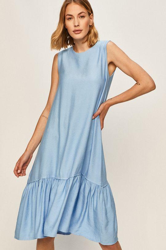 modrá Answear - Šaty Dámský