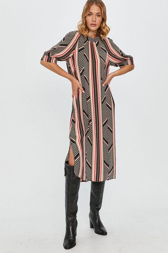 viacfarebná Answear Lab - Šaty