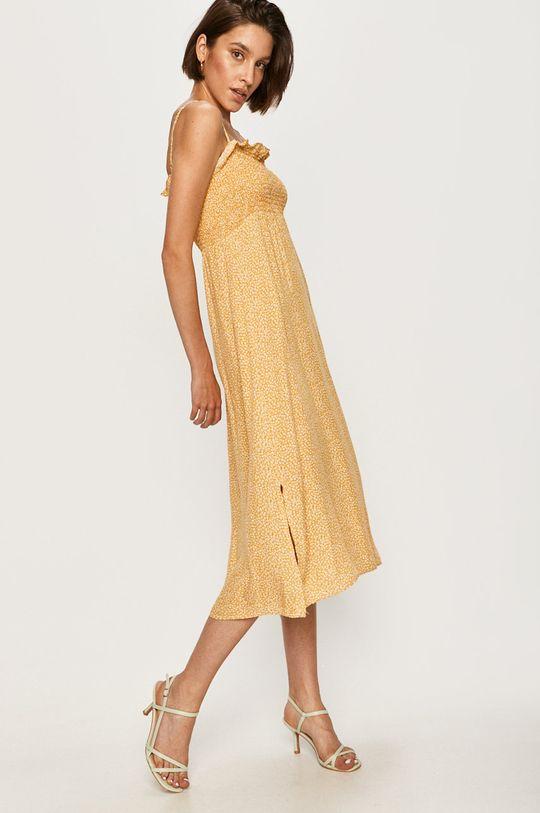 Answear - Сукня Answear Lab жовтий
