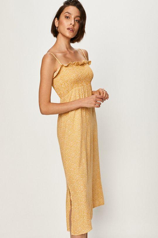 жовтий Answear - Сукня Answear Lab