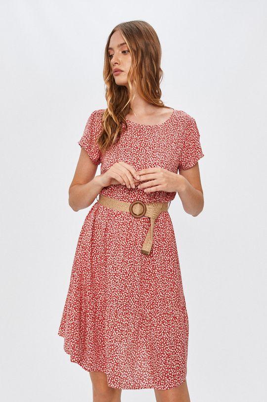 červená Answear - Šaty Answear Lab