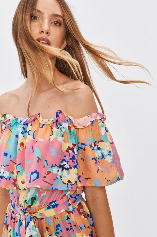 барвистий Answear - Сукня Answear Lab