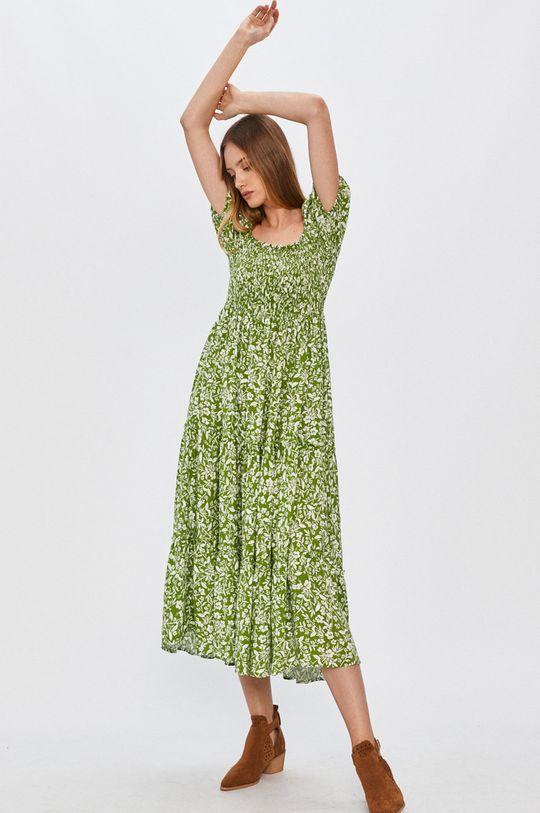 zelená Answear - Šaty Answear Lab Dámsky