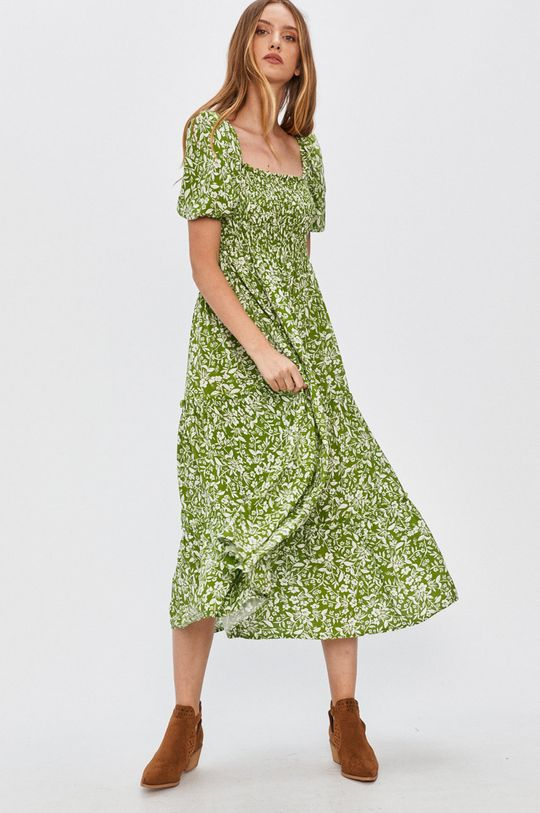 Answear - Šaty Answear Lab zelená