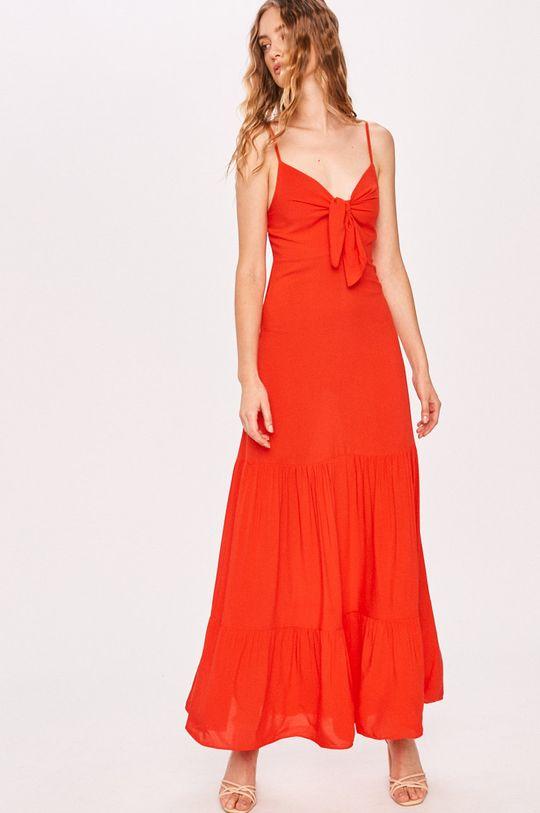 czerwony Answear - Sukienka Answear Lab Damski
