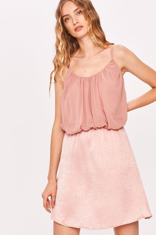 różowy Answear - Sukienka Answear Lab Damski