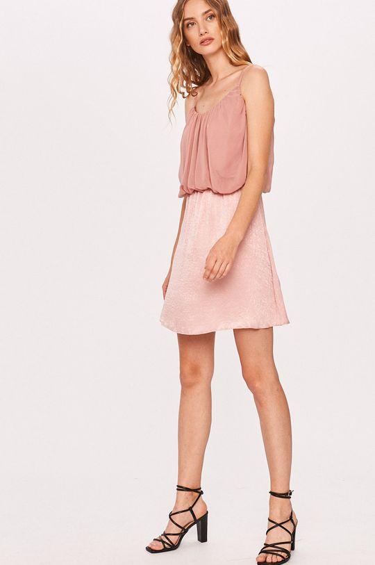 Answear - Sukienka Answear Lab różowy