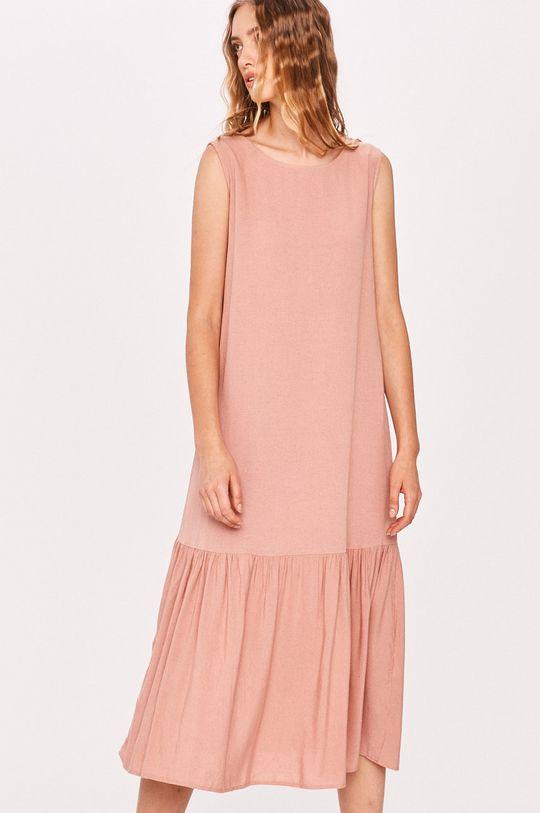 ružová Answear - Šaty Answear Lab