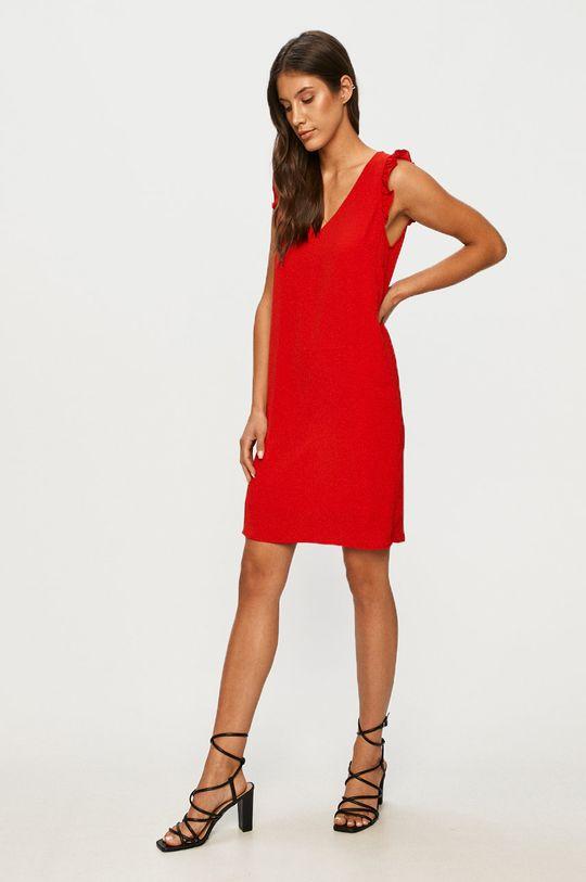 Answear - Sukienka Answear Lab czerwony