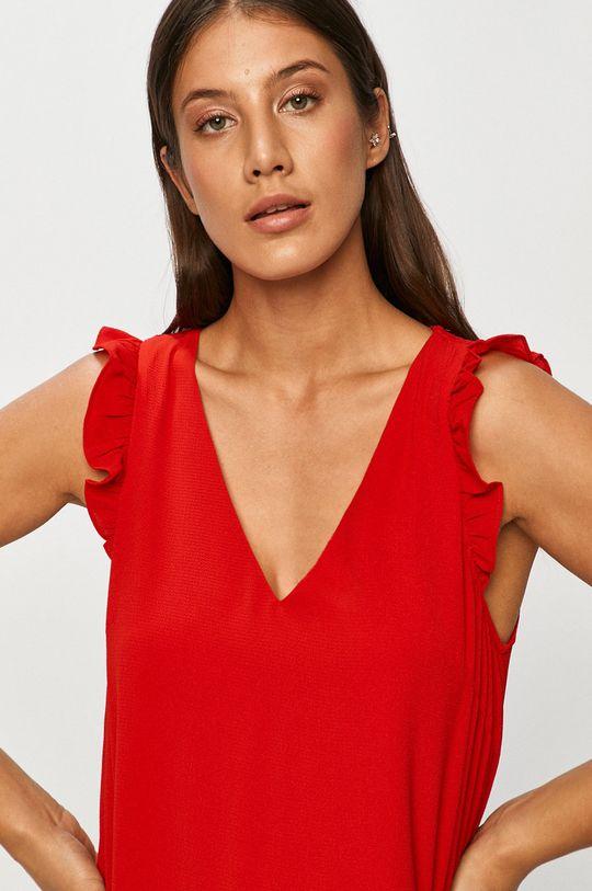 czerwony Answear - Sukienka Answear Lab