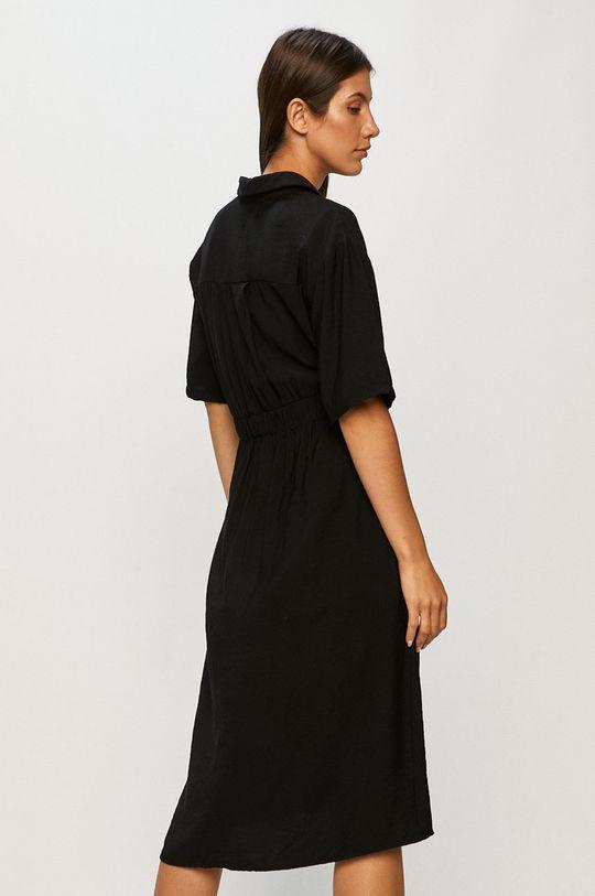 Answear - Sukienka Answear Lab 50 % Len, 50 % Poliester