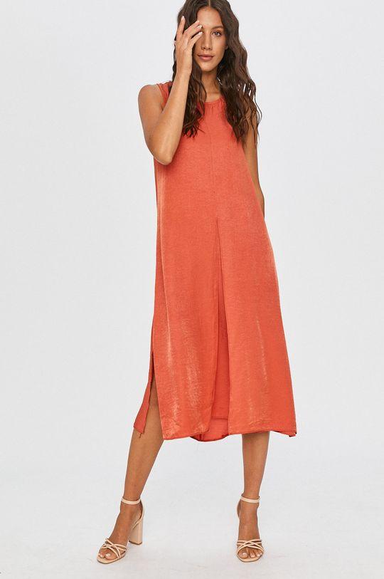 Answear - Šaty Answear Lab červená