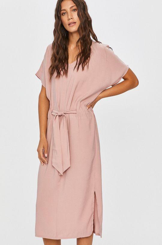 ružová Answear - Šaty Answear Lab Dámsky