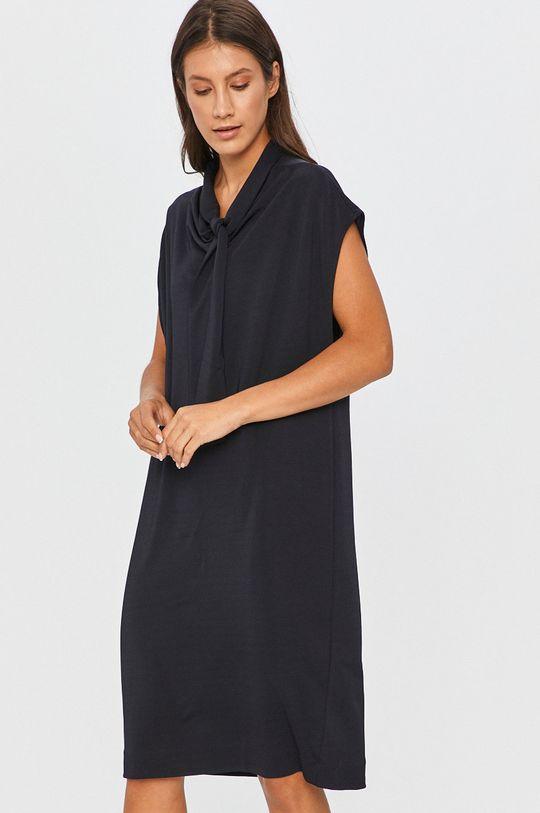 tmavomodrá Answear Lab - Šaty