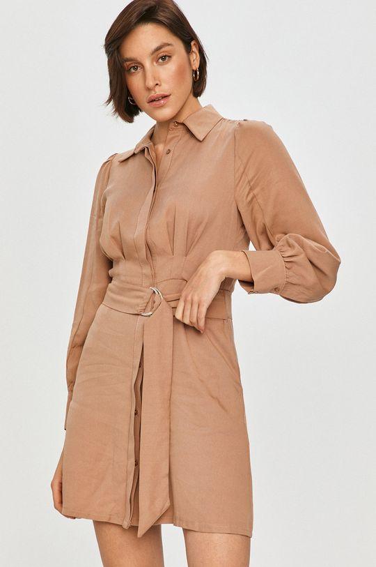 béžová Answear Lab - Šaty