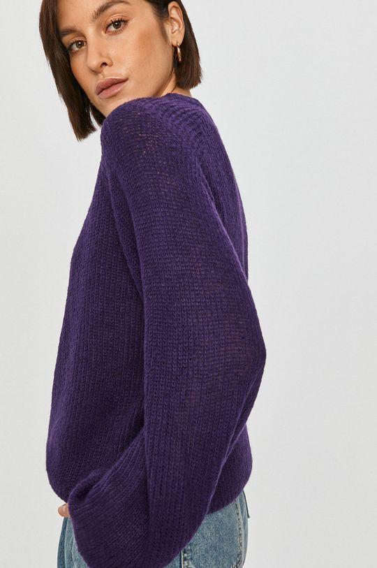 purpurová Answear Lab - Svetr Dámský