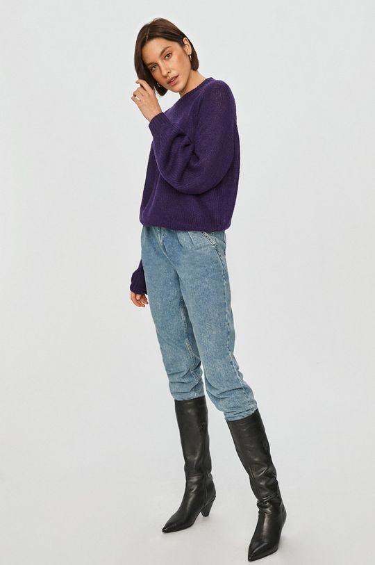 Answear Lab - Svetr purpurová