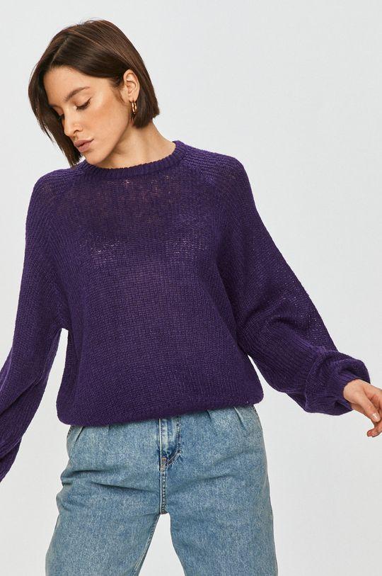 purpurová Answear Lab - Svetr
