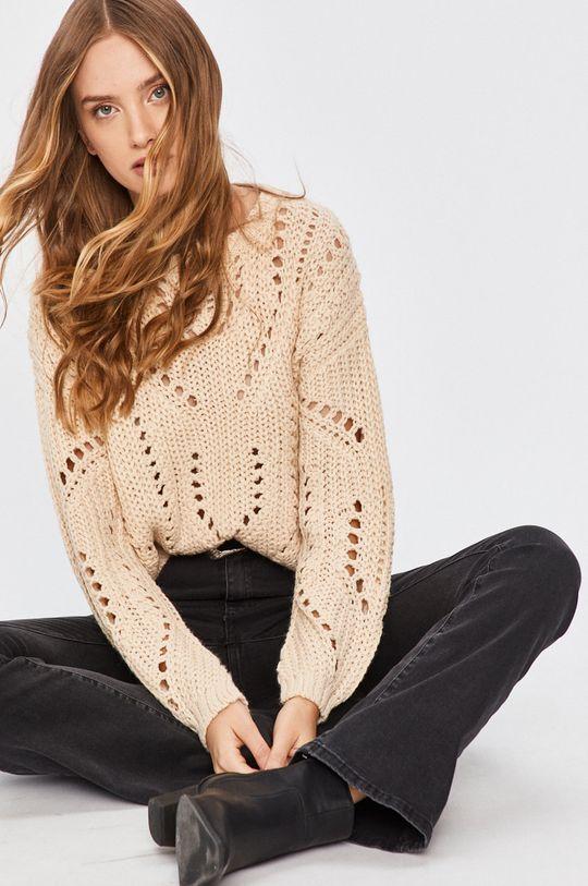 bej Answear - Pulover Answear Lab De femei