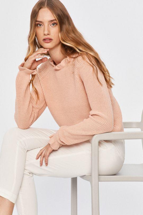 pastelová ružová Answear - Sveter Answear Lab Dámsky