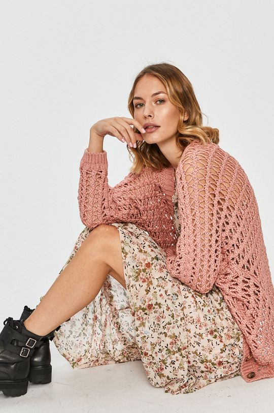 roz Answear Lab - Cardigan De femei