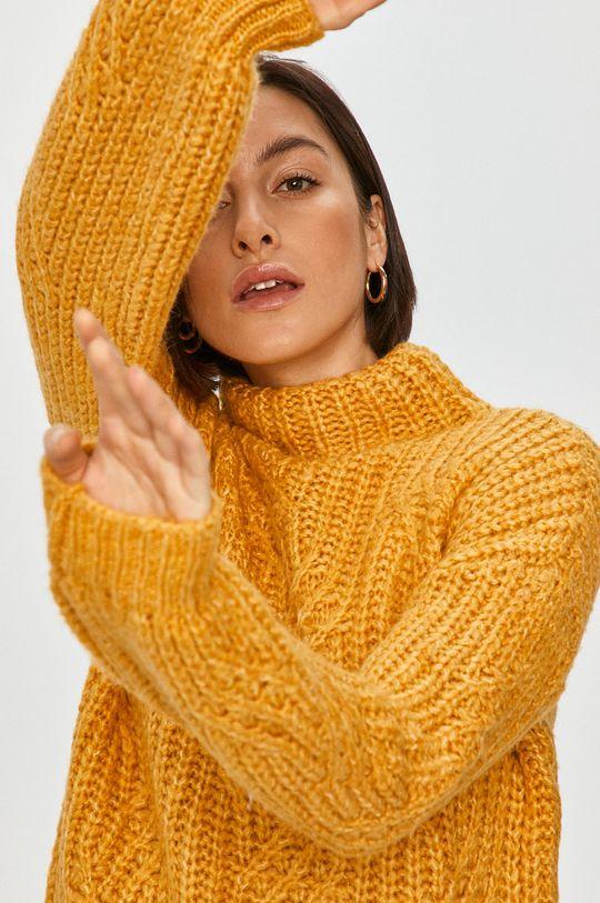 galben Answear Lab - Pulover De femei