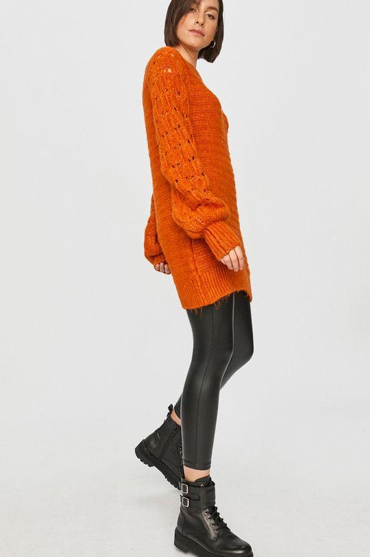 portocaliu Answear Lab - Pulover De femei
