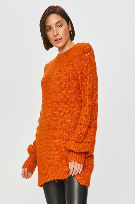 Answear Lab - Pulover portocaliu