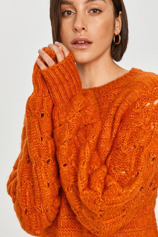 oranžová Answear Lab - Svetr