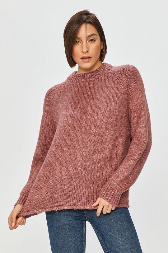 różowy Answear Lab - Sweter
