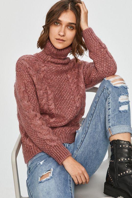 roz Answear Lab - Pulover De femei