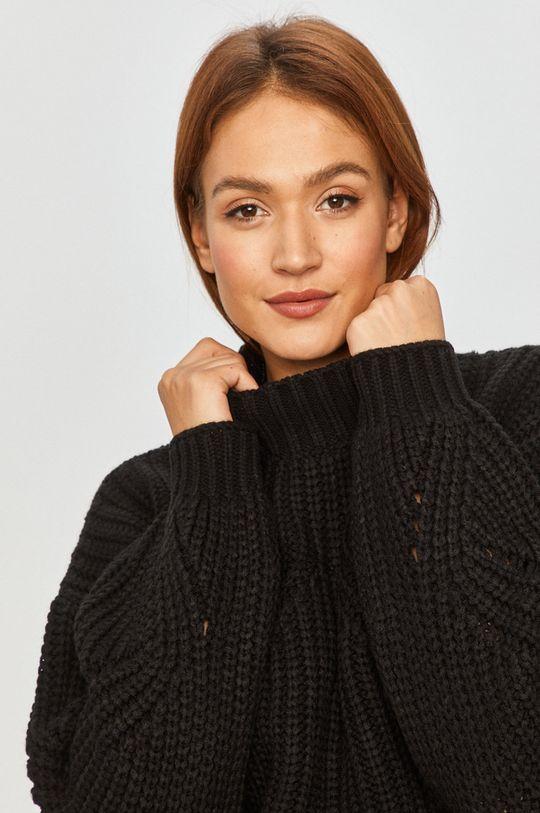 czarny Answear Lab - Sweter