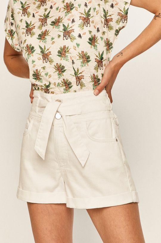 bílá Answear - Džínové šortky