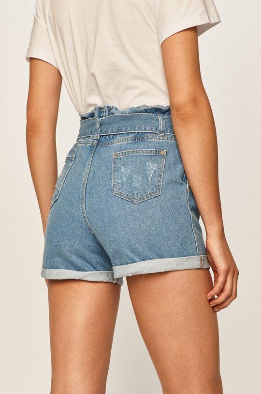 Answear - Rifľové krátke nohavice  100% Bavlna