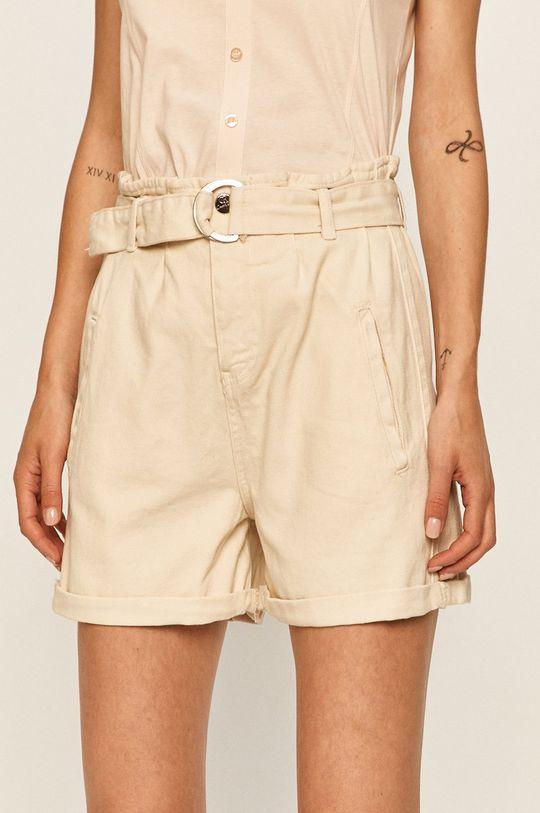 білий Answear - Джинсові шорти Answear Lab Жіночий