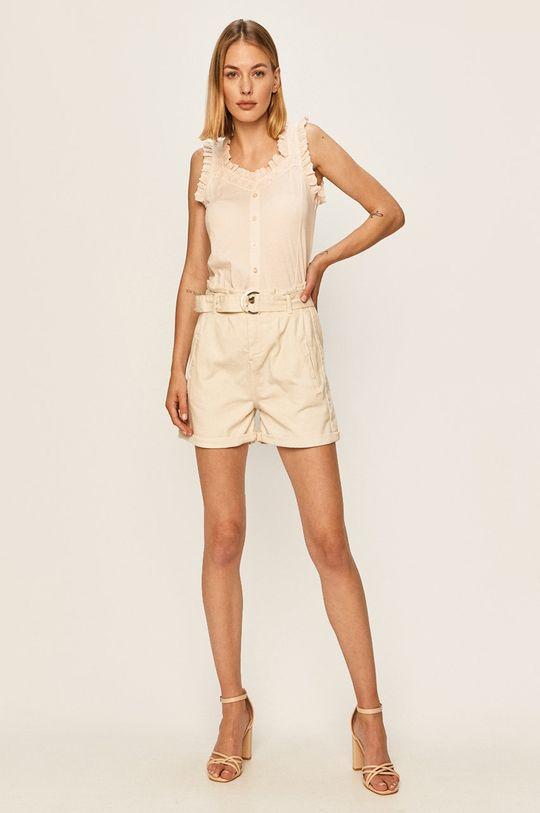 Answear - Джинсові шорти Answear Lab білий