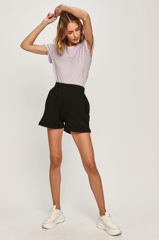 negru Answear Lab - Pantaloni scurti De femei